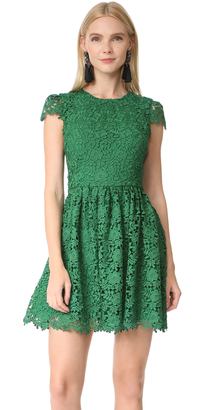alice + olivia Corina Cap Sleeve Party Dress $495 thestylecure.com