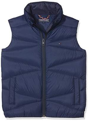 Tommy Hilfiger Boy's Packable Light Down Vest Jacket,(Size: 16)