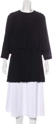 Dries Van Noten Pleated Mini Dress