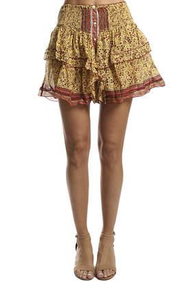 Warehouse Poupette St Barth Honey Mini Skirt
