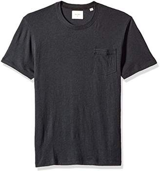 Billy Reid Men's Cotton Cashmere Pocket T-Shirt