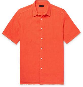 Theory Slub Linen Shirt