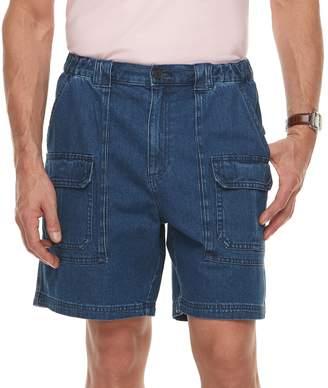 Croft & Barrow Men's Classic-Fit Side-Elastic Cargo Shorts