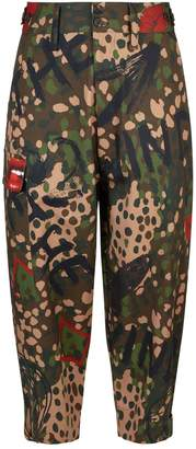 Vivienne Westwood Camouflage Military Trousers