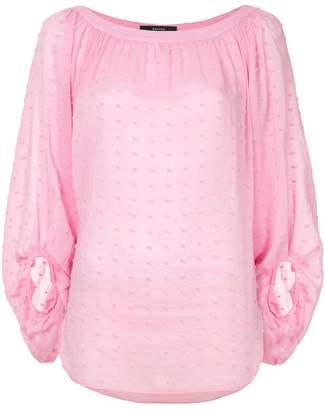Smythe balloon sleeve blouse