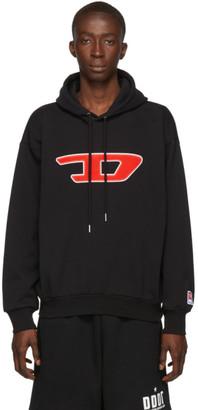 Diesel Black S-Division-D Sweatshirt