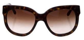 Stella McCartney Tortoiseshell Gradient Sunglasses