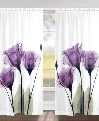 "Gentian Hope 95"" Sheer Window Panel"