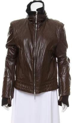 Sylvie Schimmel Quilted Leather Jacket