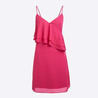 J.Crew Factory Ruffle-front cami dress