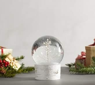 Pottery Barn Lit Trees Snow Globes