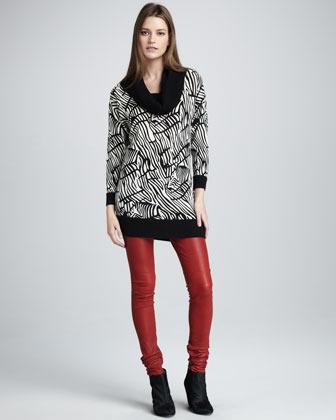 Alice + Olivia Leather Pants