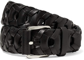 Altuzarra Woven Leather Belt - Black
