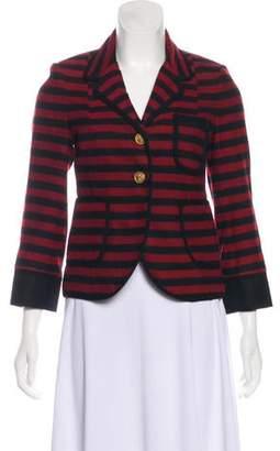 Smythe Striped Virgin Wool Blazer
