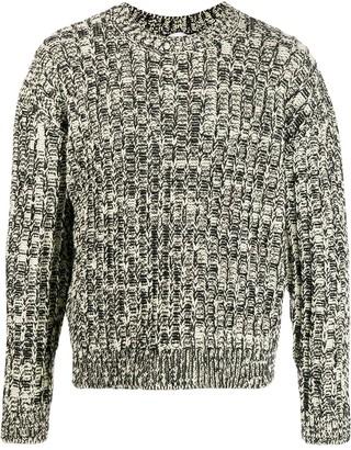 Calvin Klein Jeans Est. 1978 crew-neck intarsia jumper