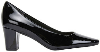 Nicole Black Patent Heeled Shoe