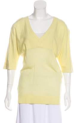 Balenciaga Cashmere Knit Top w/ Tags