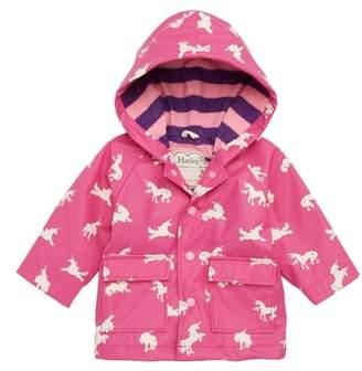 Hatley Unicorn Waterproof Hooded Raincoat