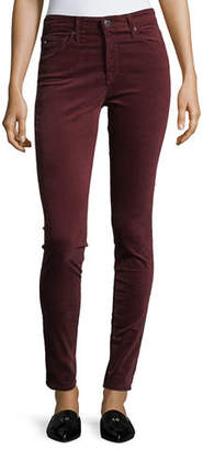AG Jeans Velvet Farrah High Rise Skinny Pants