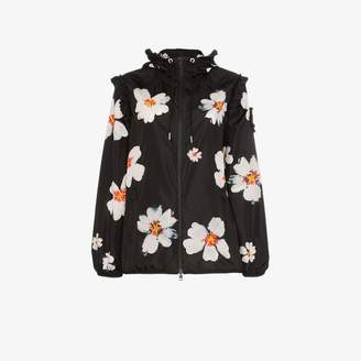 Simone Rocha Moncler Genius x snow flower hooded jacket
