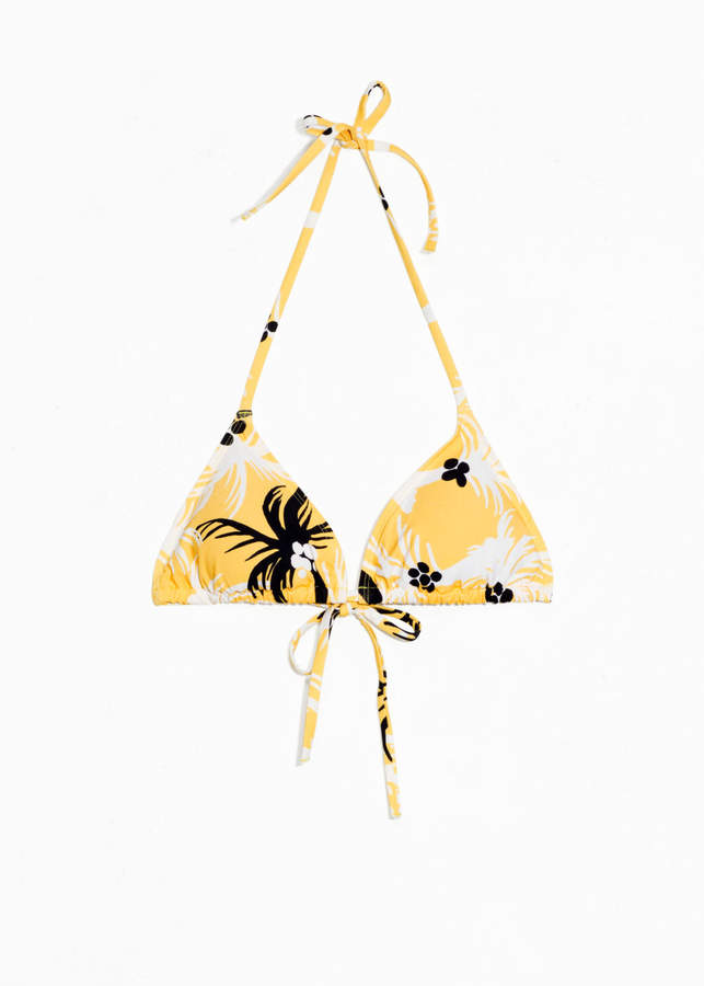 Soft Triangle Bikini Top