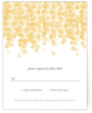 Under the Stars RSVP Cards