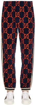 Gucci Gg Chenille Sweatpants