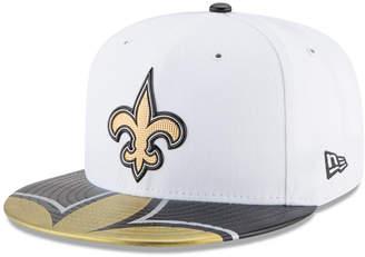 New Era Boys' New Orleans Saints 2017 Draft 59FIFTY Cap