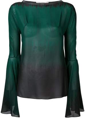 Lanvin loose fit blouse