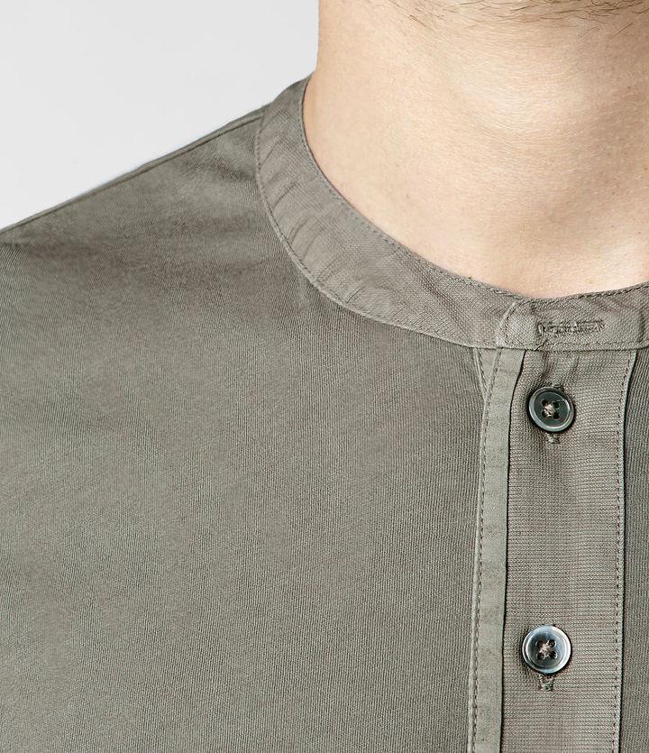 AllSaints Gallant Long Sleeved Henley