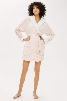 Topshop Frosted Waffle Dressing Gown