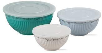 tag Kitchen Quotes Lidded Bowls - Set of 3