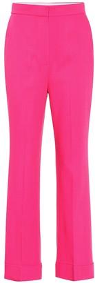 Roksanda Iana high-rise wool-blend pants