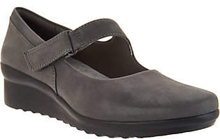 Clarks CLOUDSTEPPERS by Wedge Mary Janes -Caddell Yale