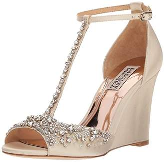Badgley Mischka Women's Sarah Wedge Sandal
