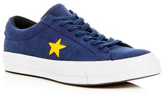 Converse Men's One Star Lace-Up Sneakers