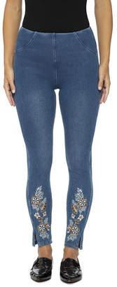 Lysse Pull-On Denim Leggings