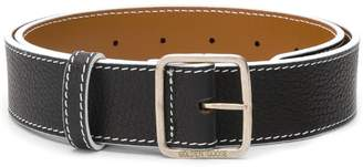Golden Goose branded buckle belt