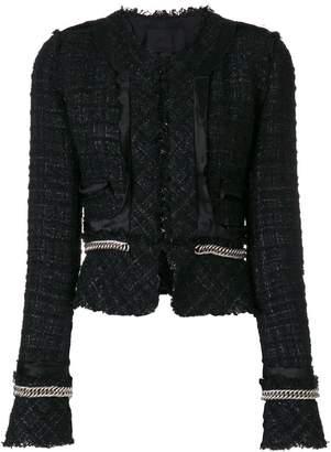 Alexander Wang chain detail blazer
