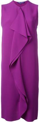 Ralph Lauren ruffle detail sleeveless dress $1,962 thestylecure.com