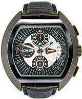 Dolce & Gabbana Men's 'High Security' Quartz Stainless Steel and Leather Casual Watch