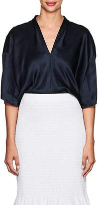 Derek Lam Women's Satin Boxy Blouse