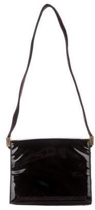 St. John Suede Shoulder Bag