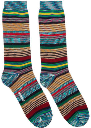 Missoni Multicolor Stripe Socks