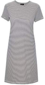 Theory Continuous Striped Tee Dress