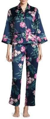 Saks Fifth Avenue Floral Pajamas