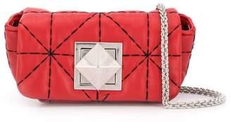 Sonia Rykiel quilted-effect shoulder bag