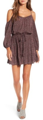Women's Paige Carmine Off The Shoulder Dress $269 thestylecure.com