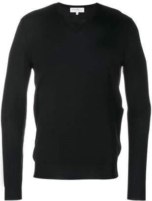 Salvatore Ferragamo classic V-neck pullover