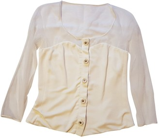 Gianni Versace White Top for Women Vintage
